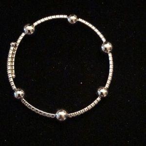 Merx Jewelry - Merx Silver/Crystal Bracelet